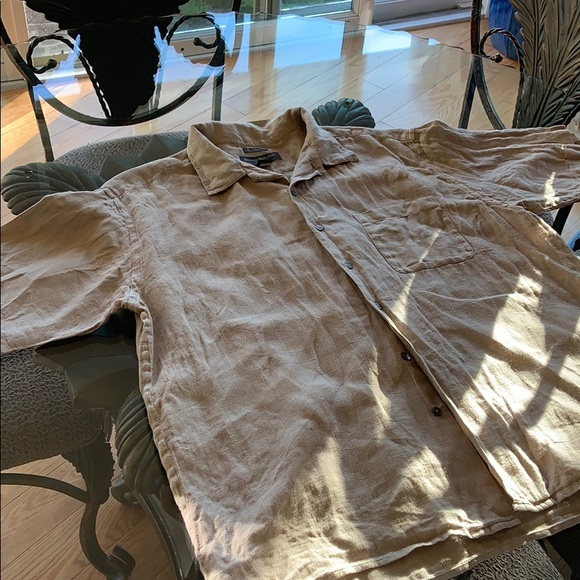 Banana republic short sleeve button up